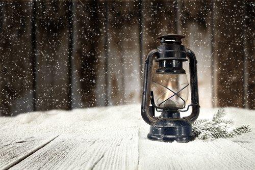 The dark of winter