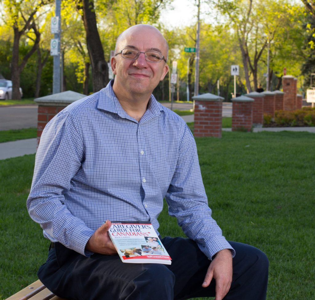 Lauber Rick - On Bench with Book