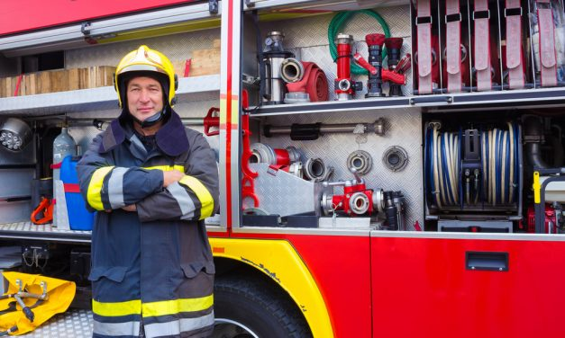 A Story of a Malfunctioning Smoke Alarm, Huge Fire Truck, and Five Firemen