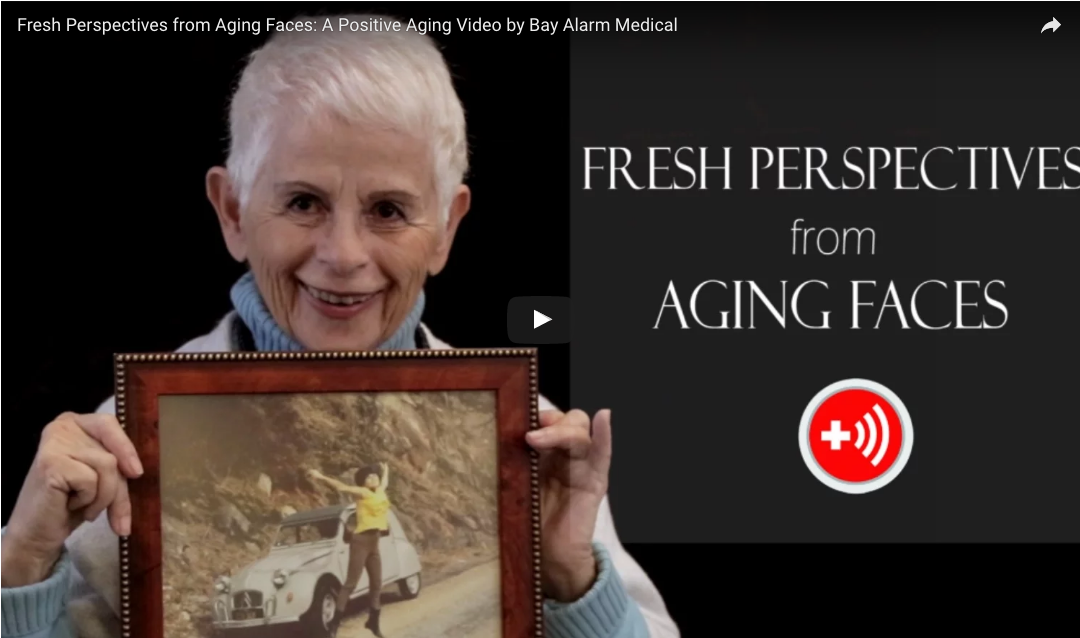 Fresh Perspectives from Aging Faces: A Positive Aging Video