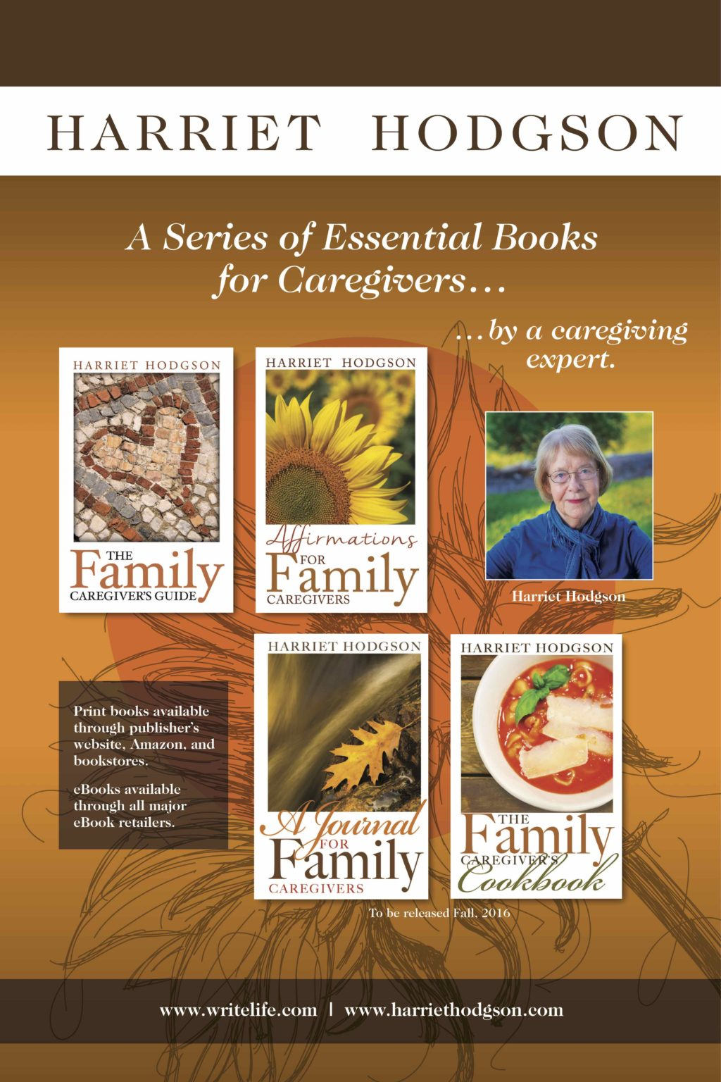 books by harriet hodgson family caregiver and author
