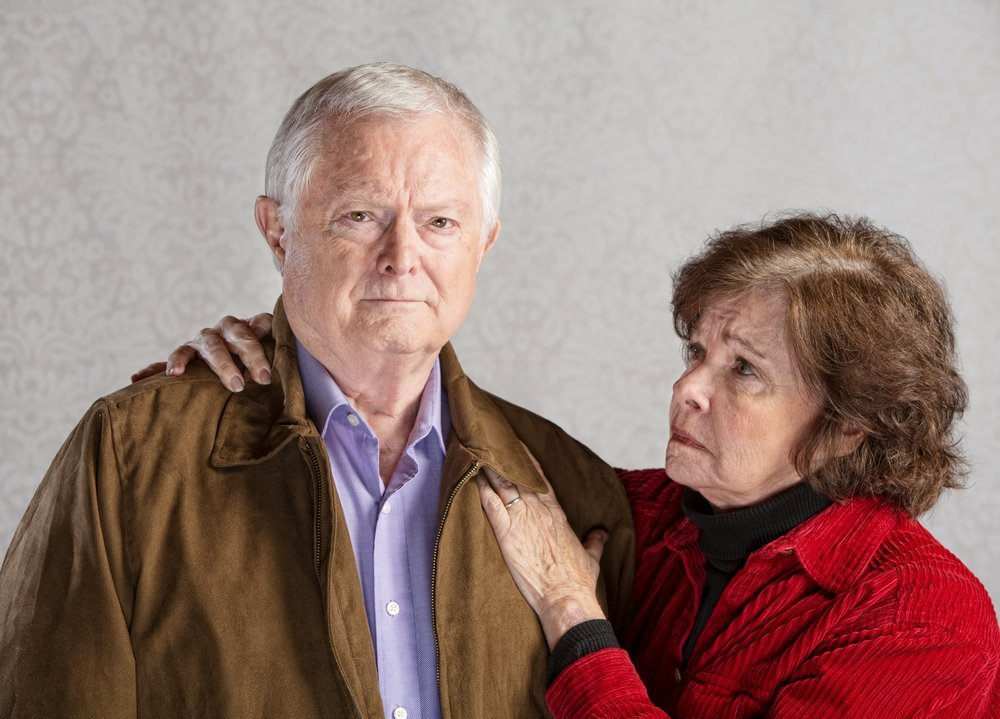 wife concerned about her husband's health