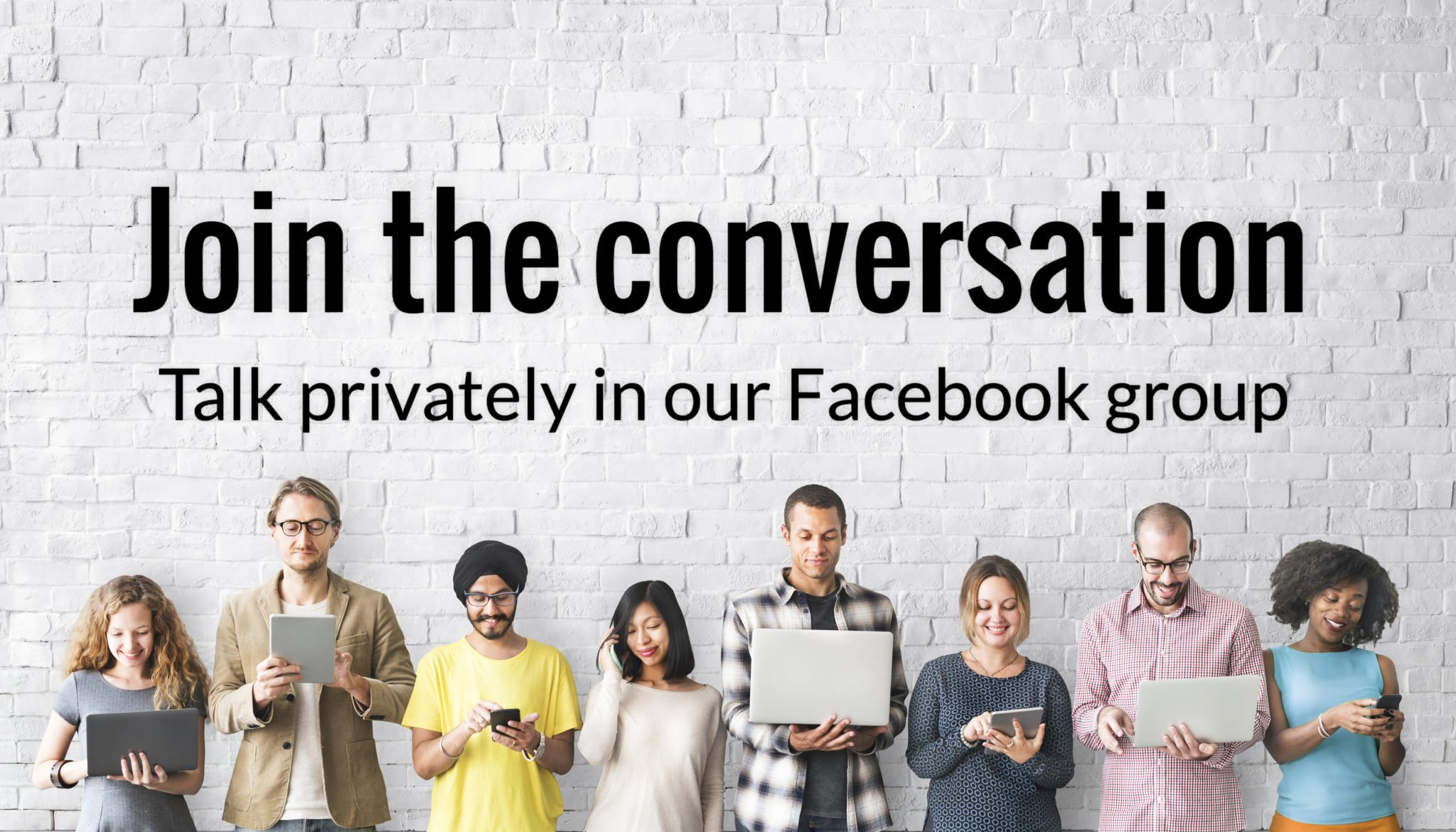 join the conversation in our private caregiving facebook group