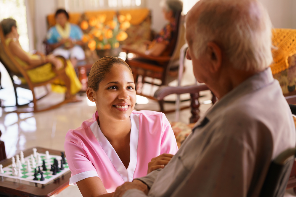 How did we become professional caregivers?