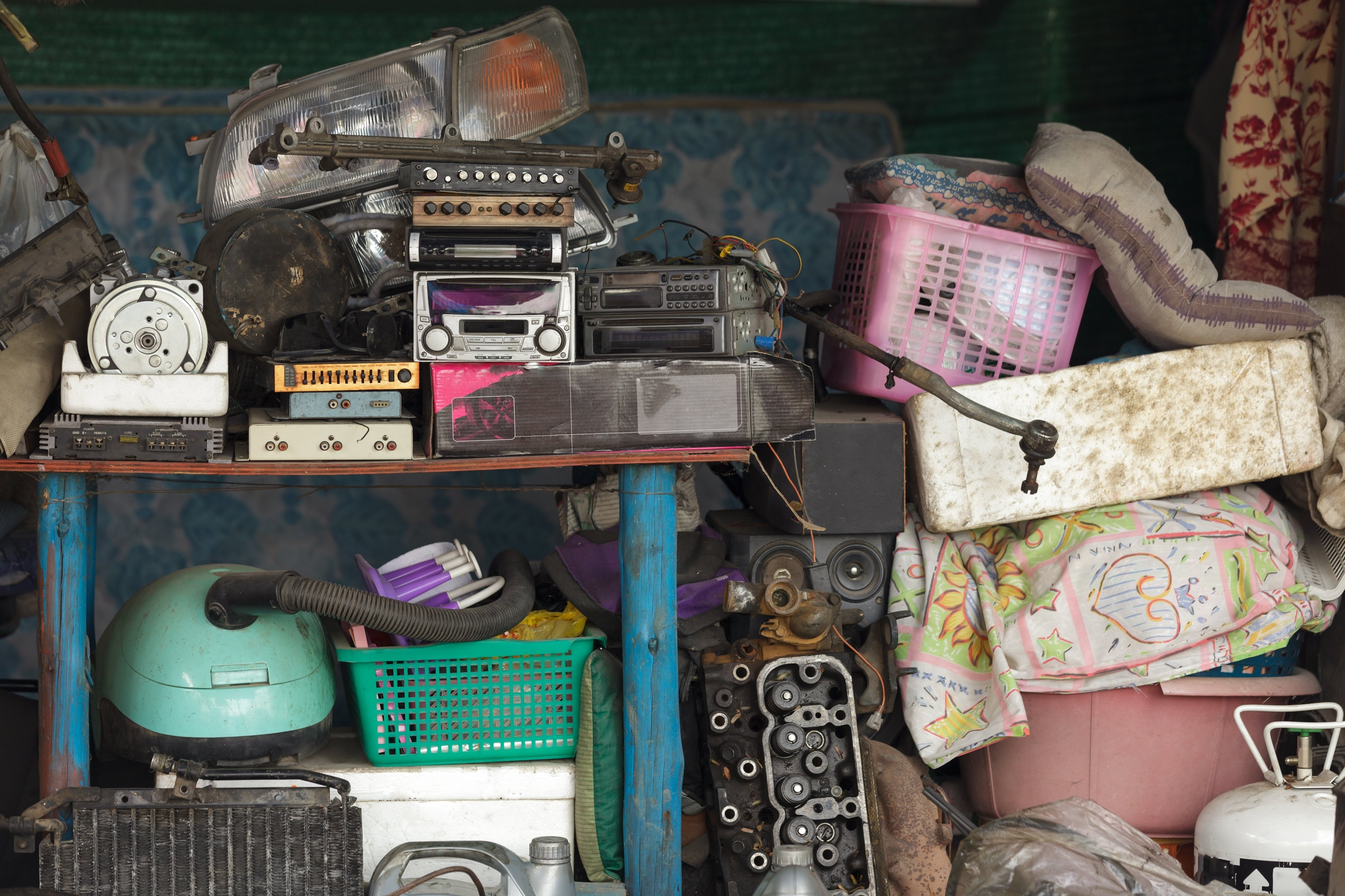 Clutter: when caregiving doesn't wrap up neatly