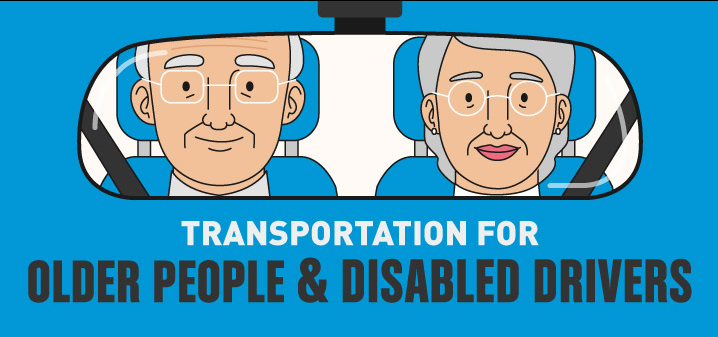 Transportation for older people and disabled drivers