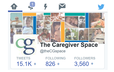 Tweets for National Family Caregivers Month, November 2015