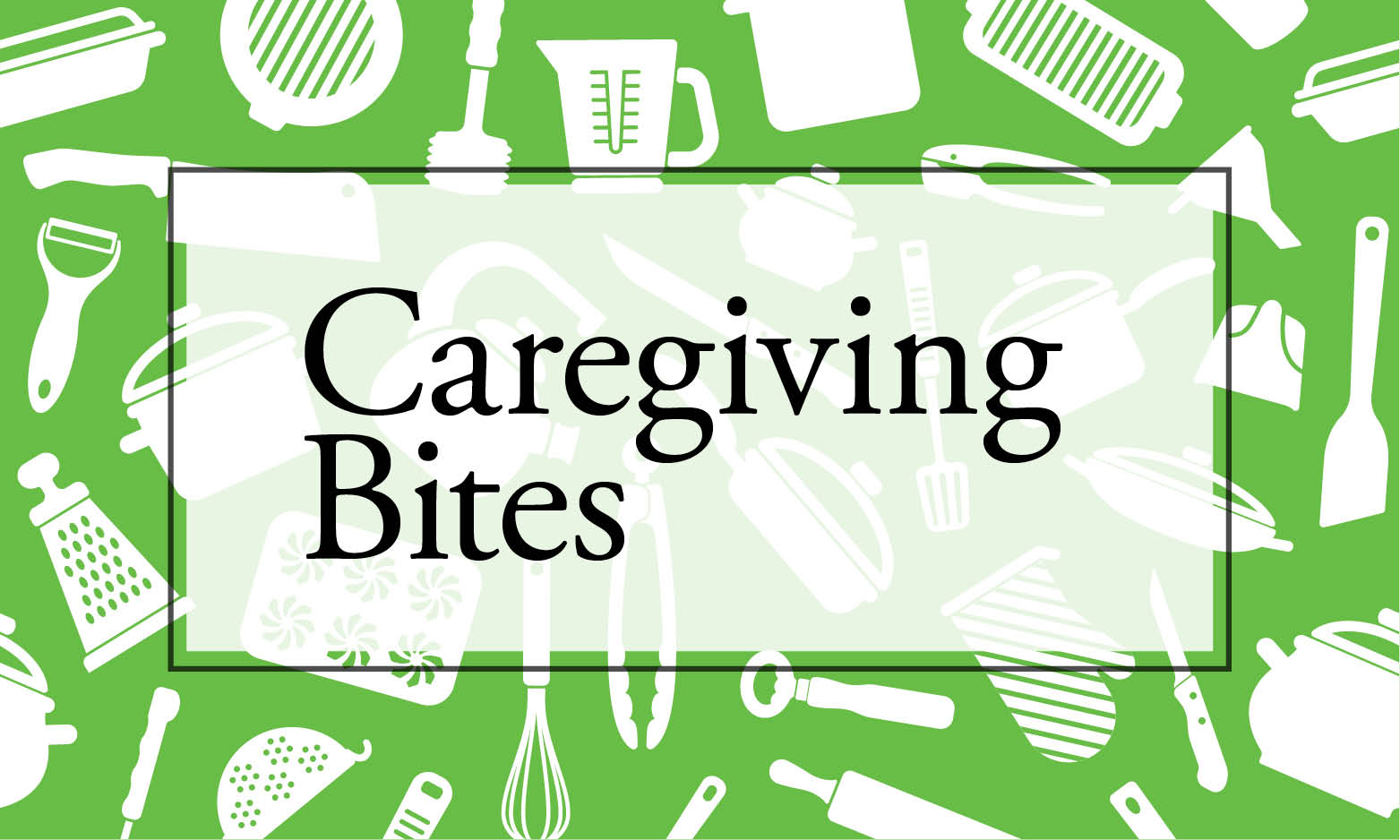 nutrition for caregivers